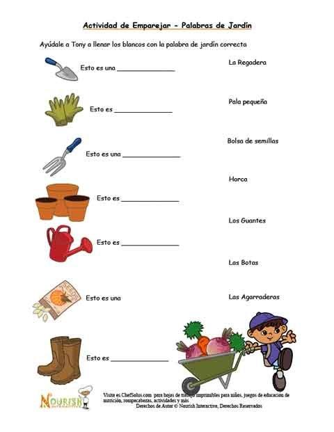 Emparejar las herramientas de jardiner a para ni os for Herramientas jardineria ninos