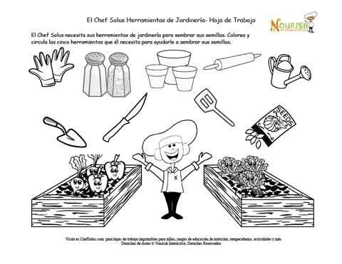 El jard n de ni os escojer las herramientas de jardiner a for Trabajo jardinero