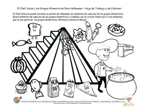 Piramide de alimentacion para pintar los ni os imagui - Piramide alimenticia para ninos para colorear ...