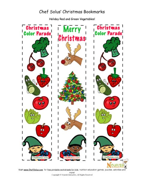 holidays 12 colorful merry christmas fun bookmarks