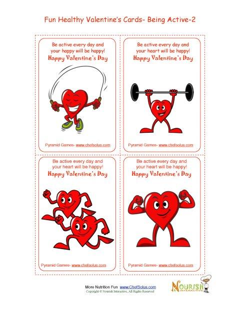 Día Festivo 2 Diversión Para el Corazón Saludable - Tarjetas Para el ...