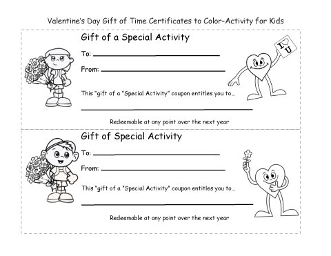 Boston chefs valentines day printable coloring pages ~ Holiday 2 Coloring Page - Valentine's Day Gift of Time ...
