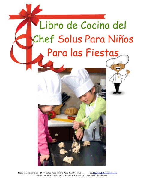 D as festivos 12 libro de cocina para ni os para las fiestas for Libro cocina para ninos