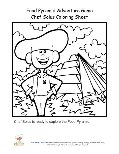 chefsolus coloring pages - photo#19