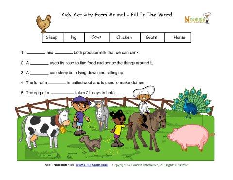 Kids Activity Farm Ani...