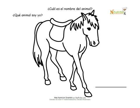 Juego de Nombrar el Animal de Granja - Actividad de Escribir Para ...
