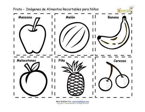 Recortables Imprimibles De Tarjetas De Memoria De Alimentos