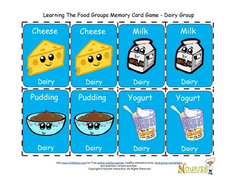 image relating to Printable Kids Game referred to as Little ones Matching Dairy Card Recreation - Printable Video game for Young children