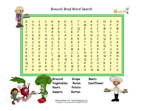 Mexican Food Word Search Answers