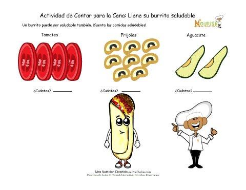 Diversión con las Matemáticas de El Burrito Para los Niños que ...