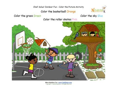 Preschool Follow Directions Activity for Kids - Summertime Fun ...