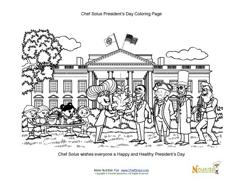 coloring pages for presidents day - president 39 s day kids fun coloring worksheet