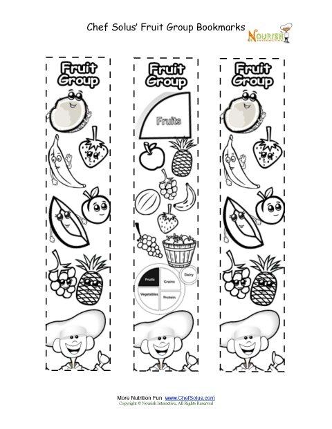 food group coloring pages - photo#31