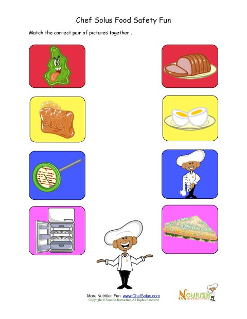 Printables Food Safety Worksheets food safety worksheets templates and lesson 1 what 39 s bugging you safety