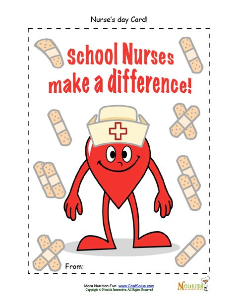card for nurse s day