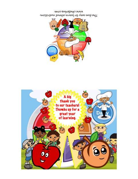 Appreciation card for teachers day card my plate theme m4hsunfo