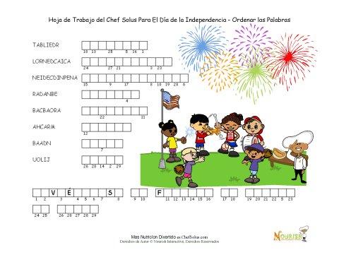 Día Festivo 9 Chef Solus Día de la Independencia - Rompecabezas de ...