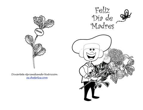 Día De Fiesta 6 Actividad Imprimible Para Colorear Tarjeta Para El ...