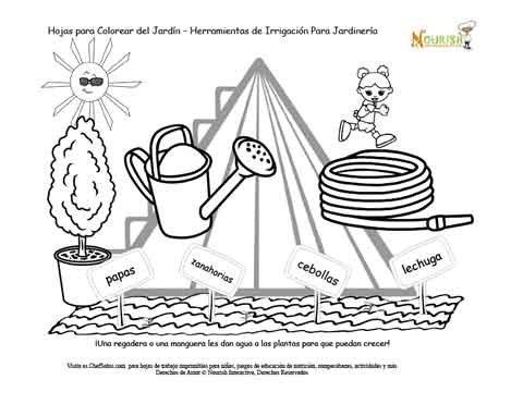 El Jardín de los Niños de la Pirámide Alimenticia Página 2 ...