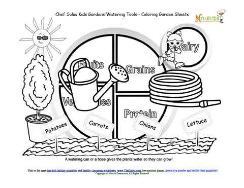 My Plate Kids Garden 2 Watering Tools