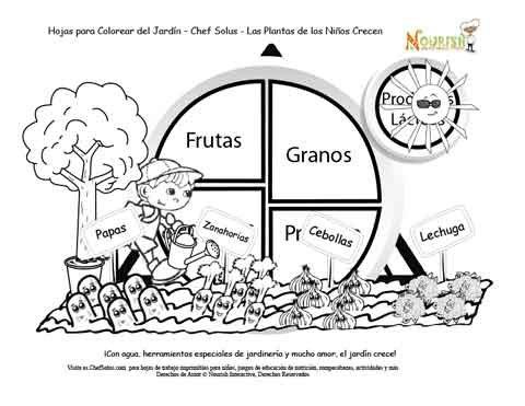 Historia Del Jardín Del Mi Plato Alimenticio Página 6 Las