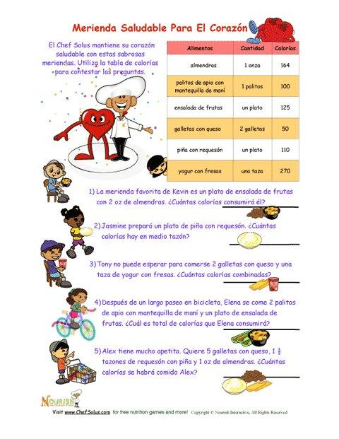 Hoja De Trabajo De Matemáticas Para Niños Para Un Ataque De ...