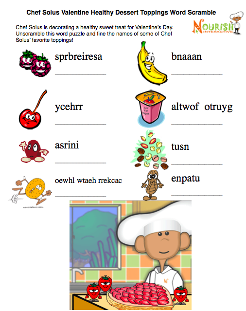 Food Safety Matching Words To Picture Activity Worksheet For Children