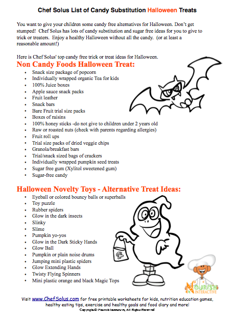 quick - Halloween Safety Printables
