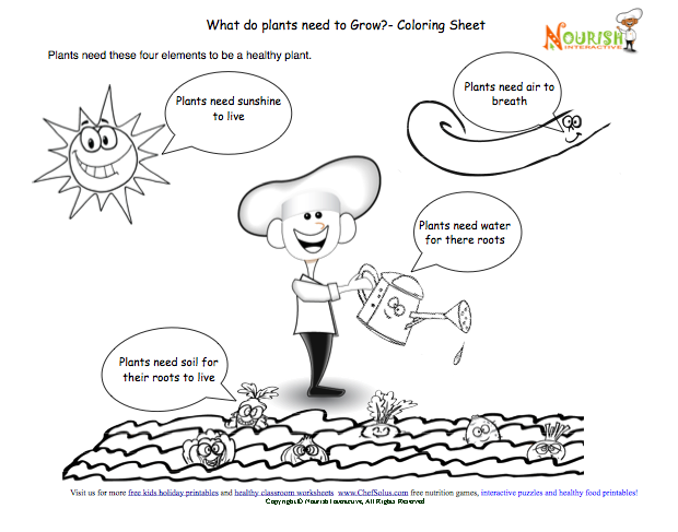 national nutrition month coloring pages printable