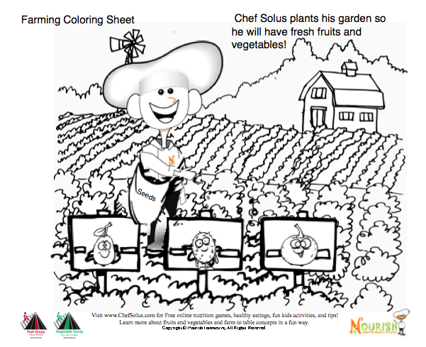 Farm To School Month Printables Teaching And Connecting Kids How