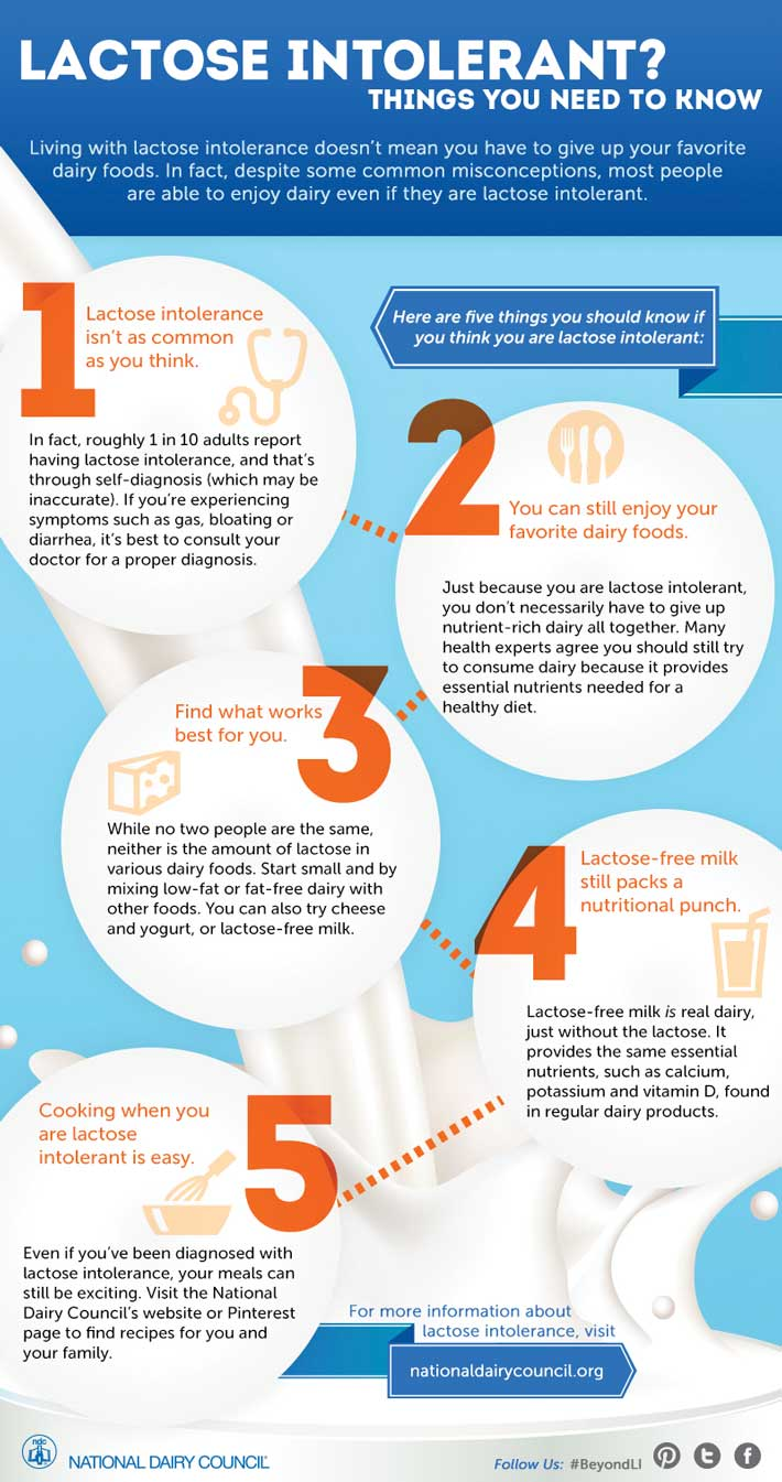 What Foods To Eat If Lactose Intolerant