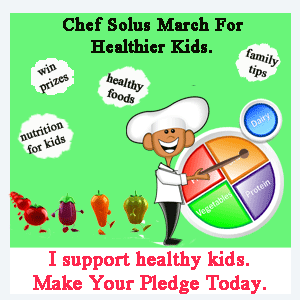 chef solus healthy kids pledge badge