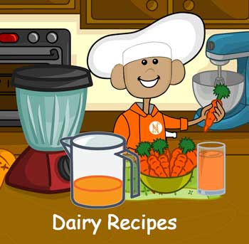 dairy coloring and activities for kids