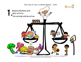 myplate healthy tips kids page