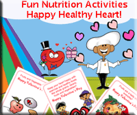 Healthy Heart Valentine Activities for Kids