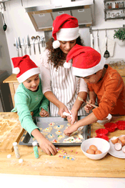 holiday cooking with kids healthy foods