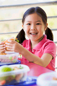 summer lunch foods for healthy child and family vacations
