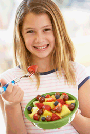 kids increase fruit