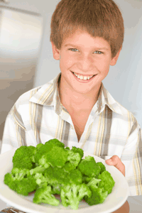 foods high in iron for kids