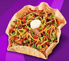 Taco Bell Nutrition Information and Menu Selection Options